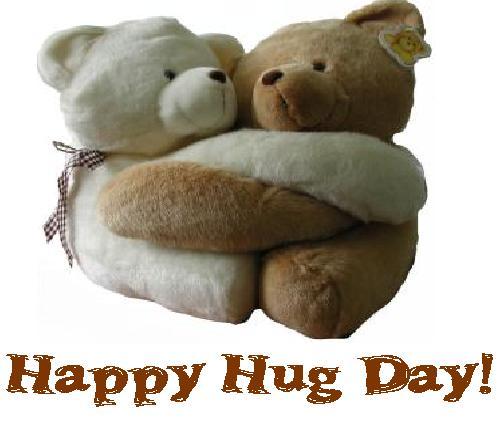 happy hug day daily bees