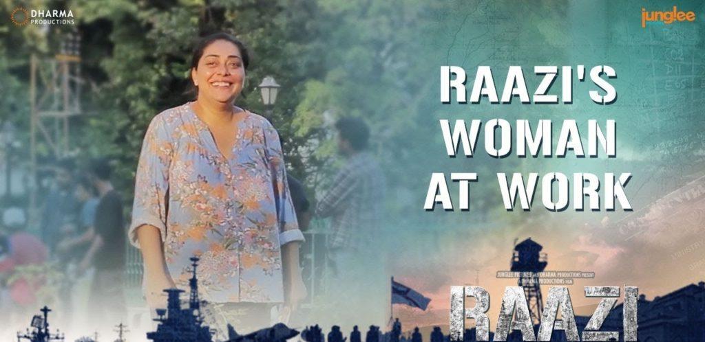 raazi's woman at work Daily Bees