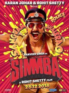 ranverr singh as Simmba daily bees