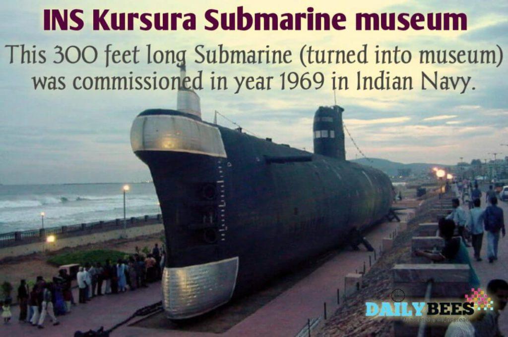 INS Kursura Submarine Vizag - Daily Bees