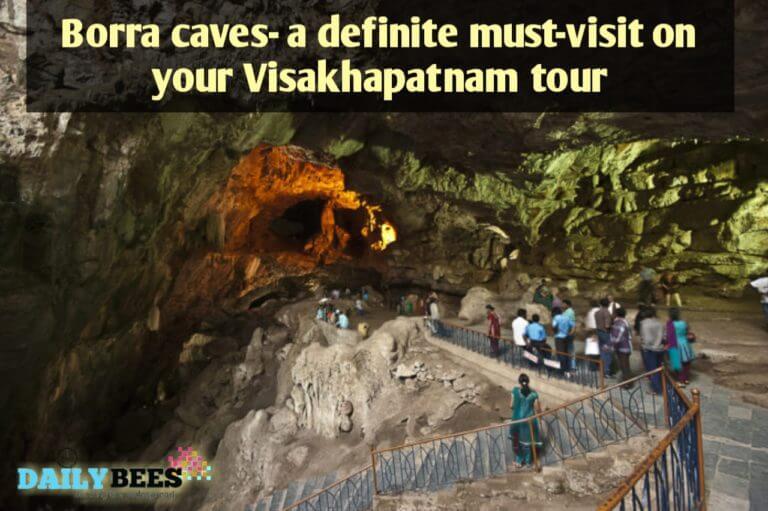 Borra Caves near Visakhapatnam - Daily Bees