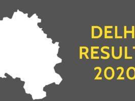 Delhi Legislative Assembly Elections 2020 Results - Daily Bees