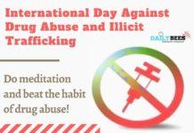 International Day Against Drug Abuse
